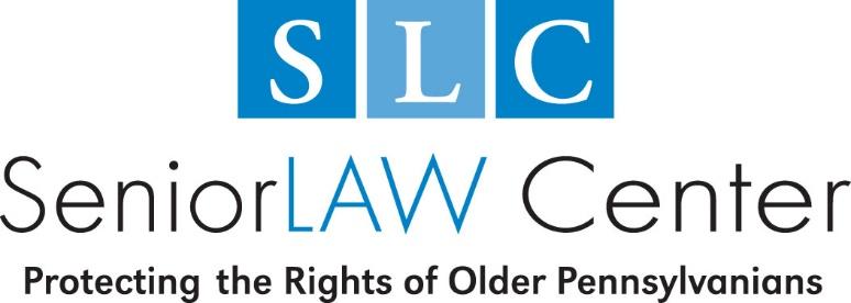 SeniorLAW Center (SLC) | Philadelphia Bar Foundation