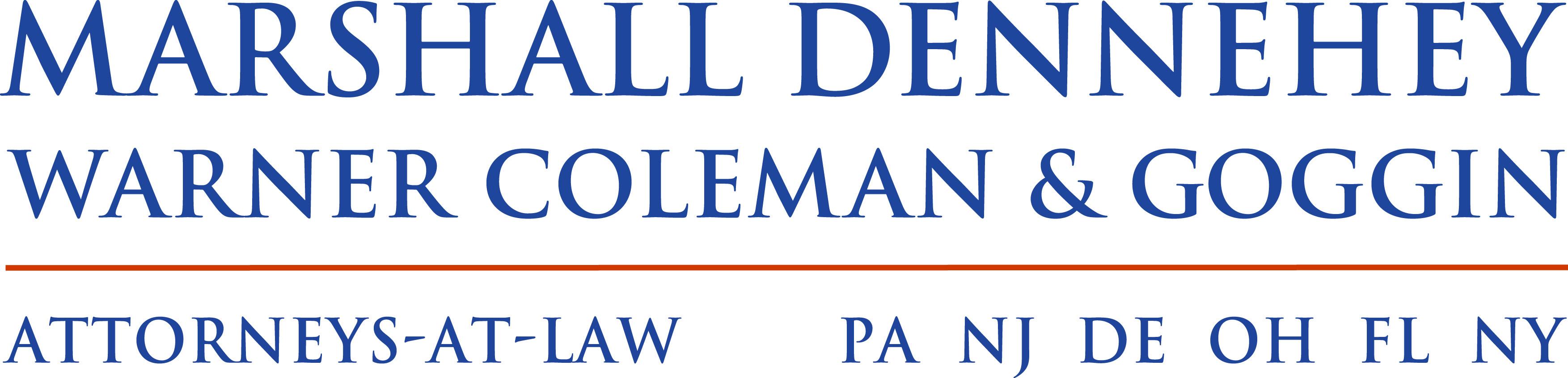 Marshall Dennehey Logo