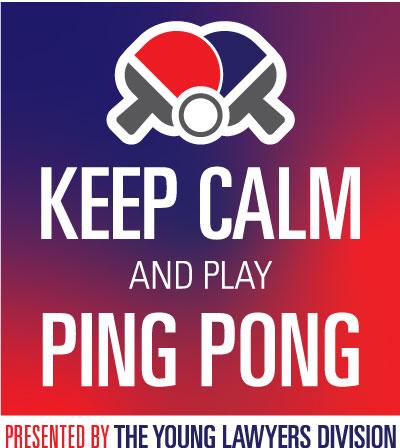Keep Calm and Play Ping Pong - YLD logo